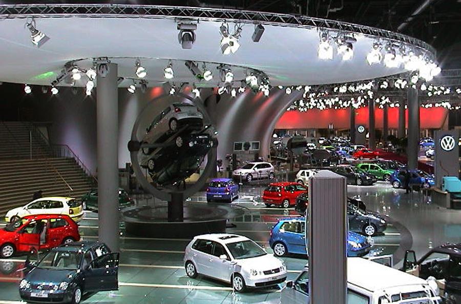 messestand von VW zur IAA in Frankfurt