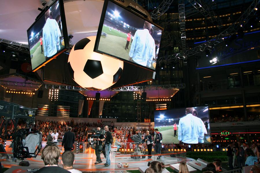 Fußball WM Arena 2006 in Berlin