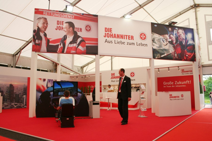 Messestand_Johanniter