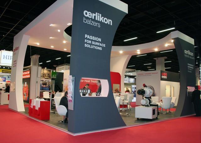 Messestand Oerlikon Leybold Vacuum GmbH